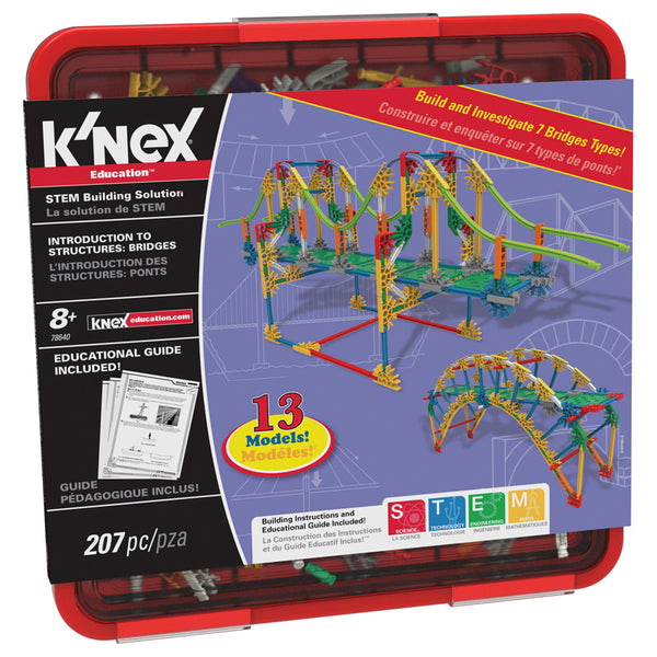 Design and Build-Educational-Physical Science-Knex Bridges-Structures-Engineering