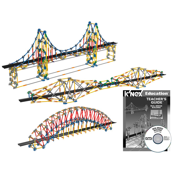 Design and Build-Educational-Real Bridges-K'NEX