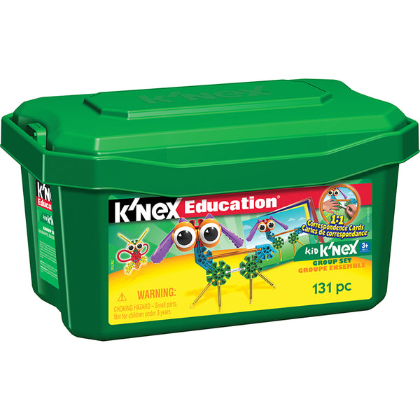 Design and Build-Educational-Kid Knex Construction-Group Set