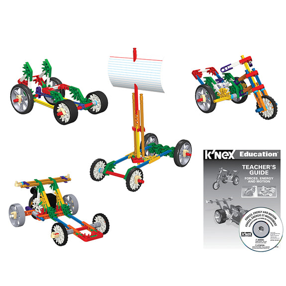 Educational-Physical Science-Design and Build-Knex Forces-Energy-Motion