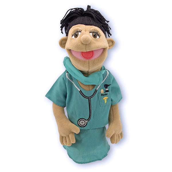 People Hand Puppet-With Rod-The Surgeon