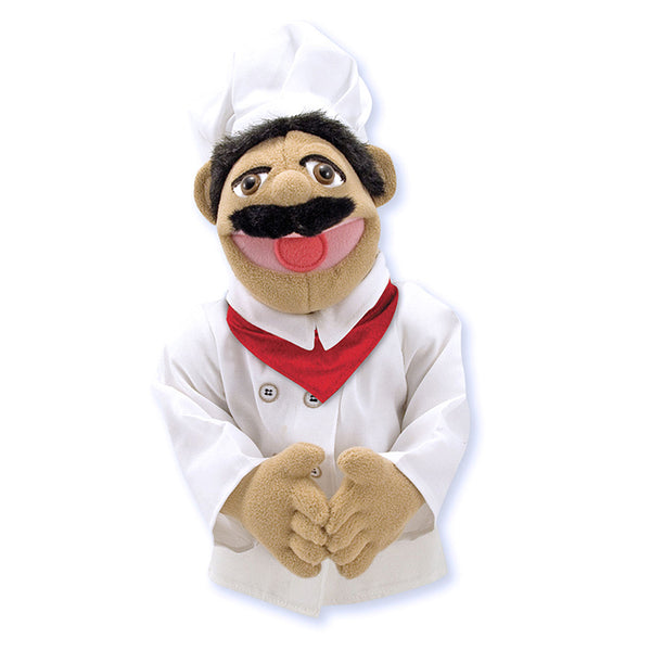 People Hand Puppet-With Rod-The Chef