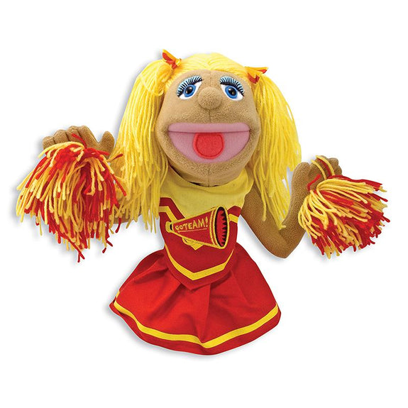 Hand Puppet-Cheerleader