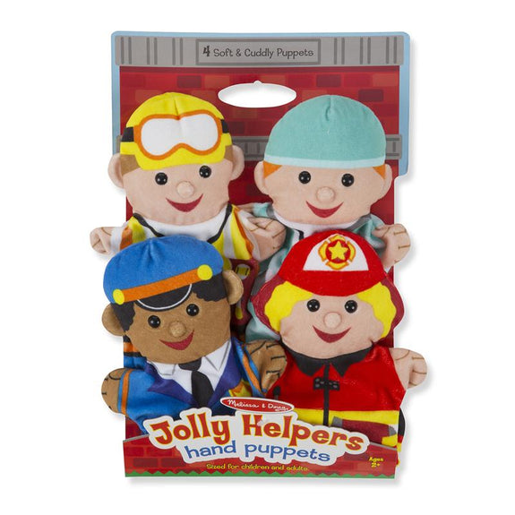 Jolly Jobs- Hand People Puppets