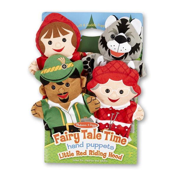 Hand Puppets-Little Red Riding Hood-Fairy Tale Set