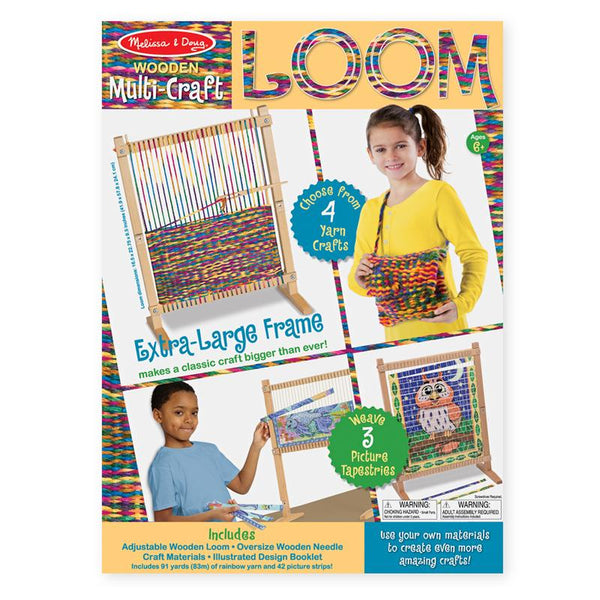 Arts and Crafts-Multi Craft Weaving Loom-Creative Children