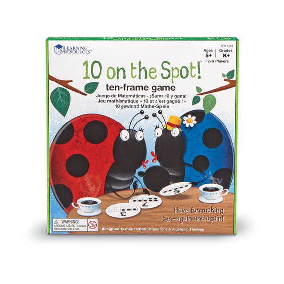 Math Fun-Educational Game-10 On The Spot-Ages 5 and Up