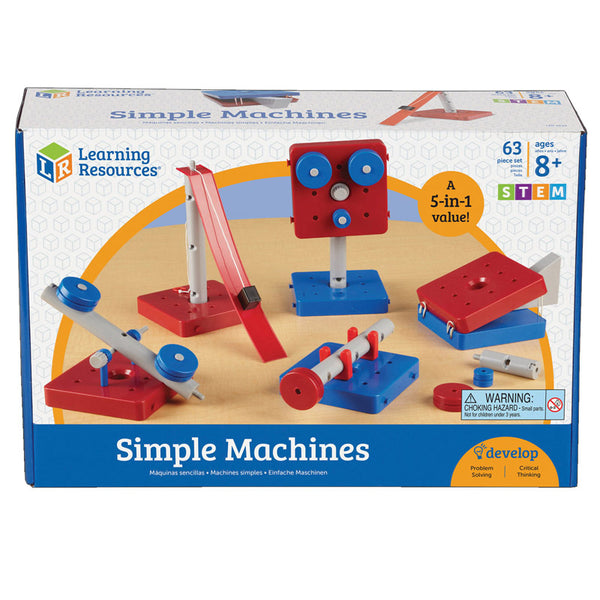 Educational-Design and Build-Physical Science-Simple Machines-Set of 5-Ages 10-12