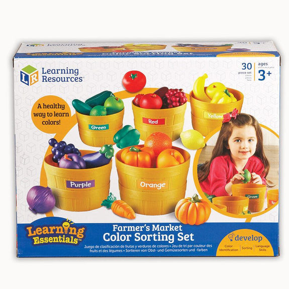 Farmers Market Color Sorting Set for Grades Pre-K-3 - Seasonal Expressions