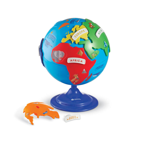 Early Learning-Puzzle-Globe