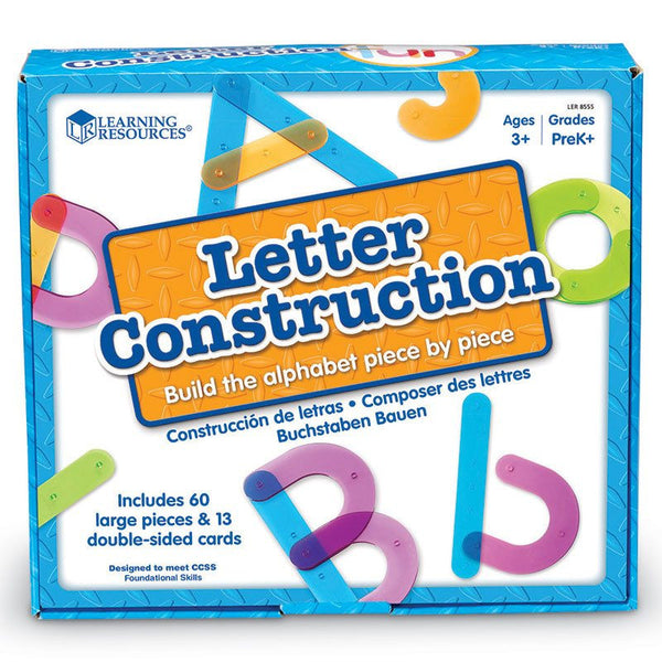 Letter Construction Activity Set for Ages 3-7 - Seasonal Expressions