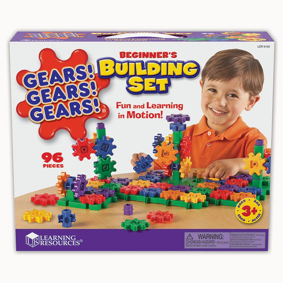 Gears, Beginning Builder 95 Piece Set - Seasonal Expressions