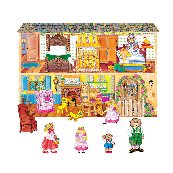 Early Learning-Flannelboards-Goldilocks and the Three Bears-Pre Cut