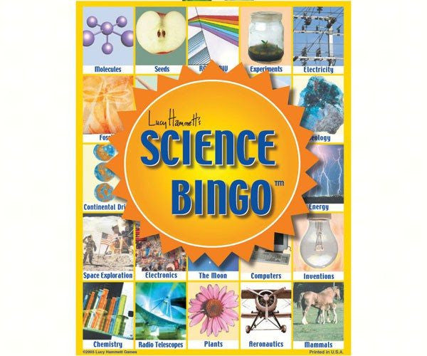 Science Bingo, an Electrifying Fun Time - Seasonal Expressions