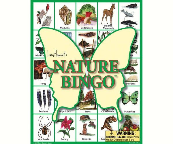 Nature Bingo, family game - Seasonal Expressions