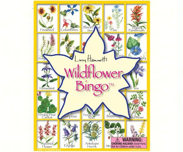 Loving Nature-Educational Game-Wildflower Bingo-Family Fun