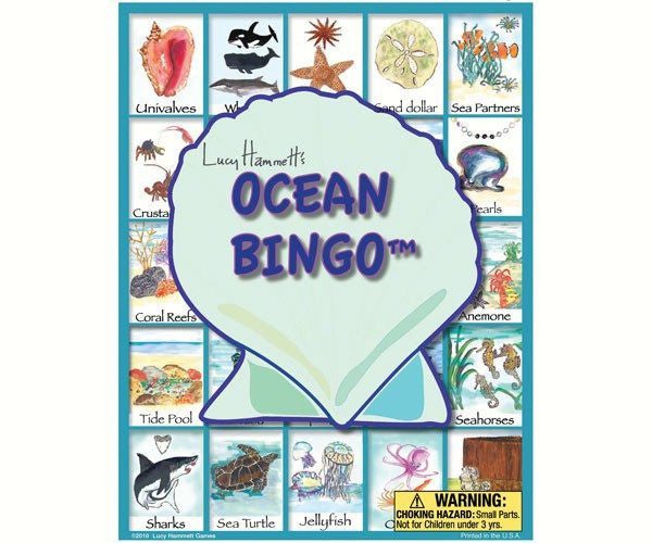 Ocean Bingo, Family Game - Seasonal Expressions