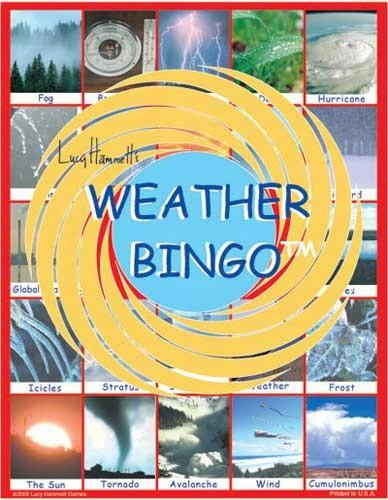 Science Fun-Educational Game-Weather Bingo-Family Fun