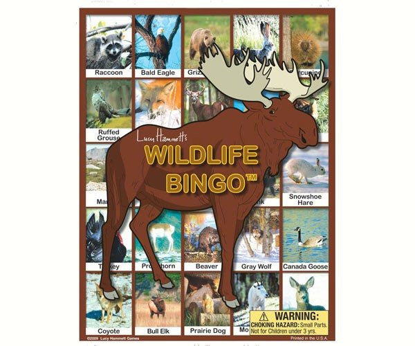 Wildlife Bingo, Family Game - Seasonal Expressions