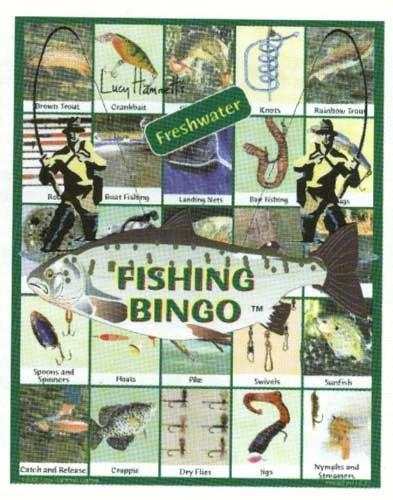 Family Game-Fishing Bingo