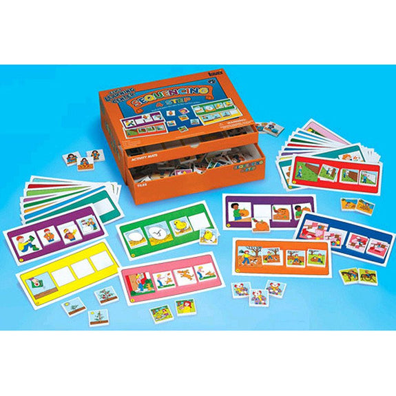 4 Step Early Learning Sequencing Center - Seasonal Expressions