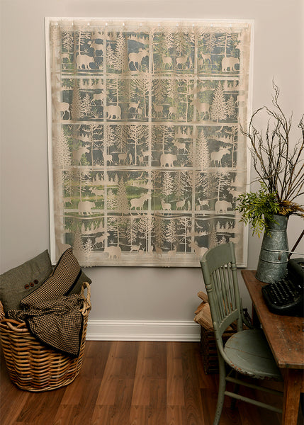 Curtain Panel-Heritage Lace-Lodge Hollow