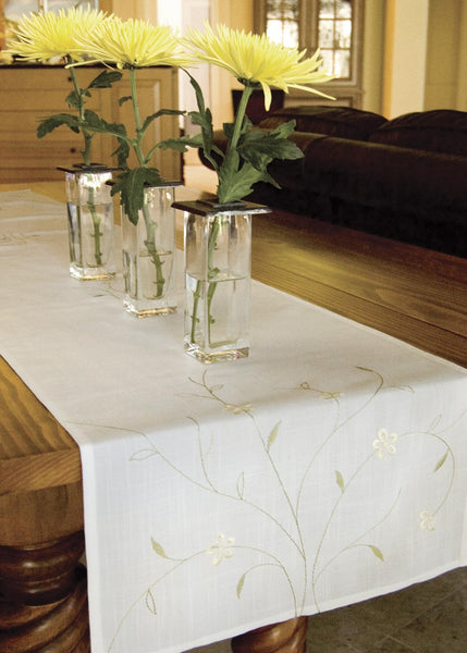 Table Linen-Runner-Dresser Scarf-Meadow-Heritage Lace