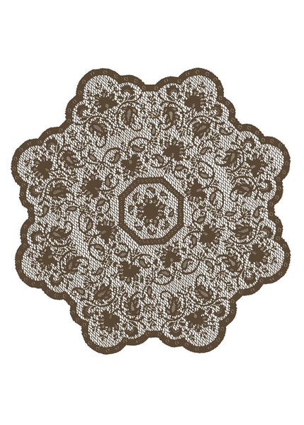 Table Linen-Table Topper-36 inch Round-Heritage Lace-Medallion
