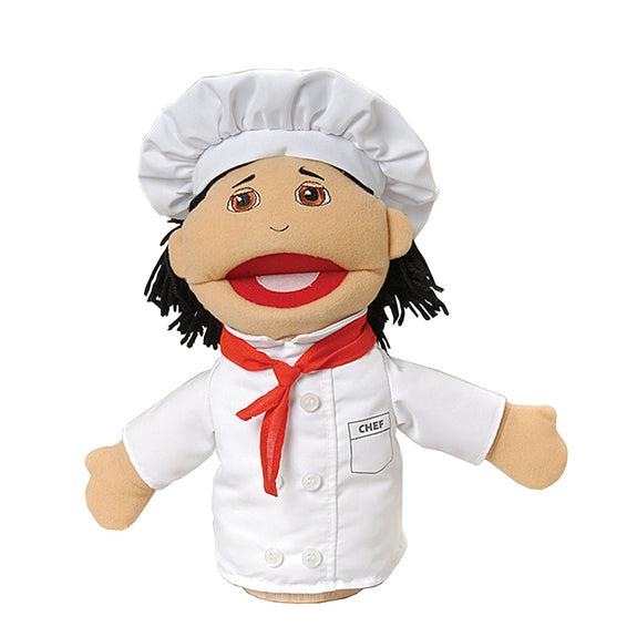 Hand Puppet-Career-Multi Ethnic-Chef