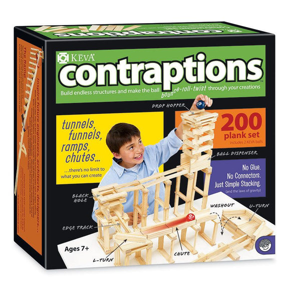 Keva Contraption 200 Plank Set - Seasonal Expressions