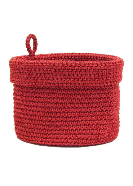 Baskets-Mode Crochet- Loop- 4 Sizes-The Cozy Home