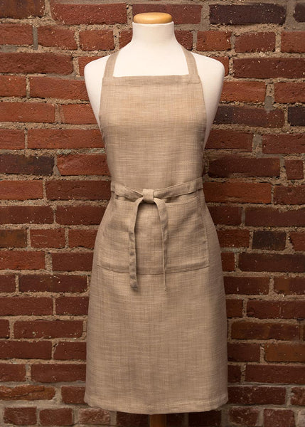 Apron-Kitchen-26x34-Heritage Lace-Natural Woven