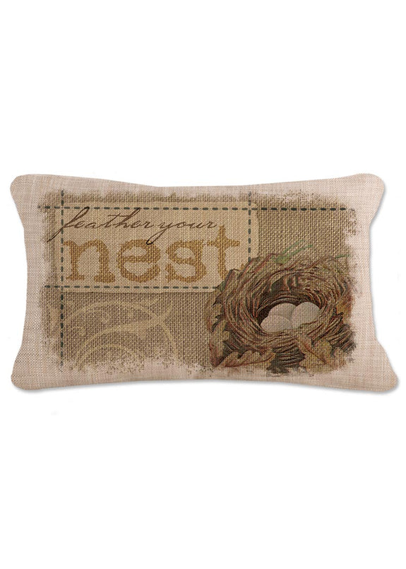 Throw Pillow-12 x 20-Nest-Heritage Lace-The Cozy Home