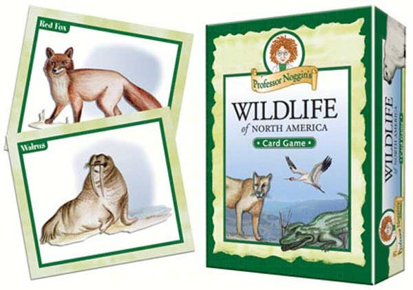 Flash Cards-Prof Noggins-Wildlife of North America