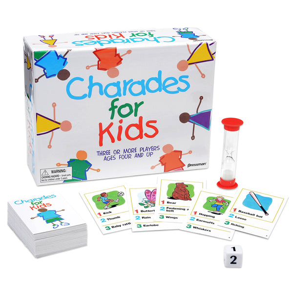 Family Games-Best of Charades-Kids Ages 4 Plus-3 Plus Players