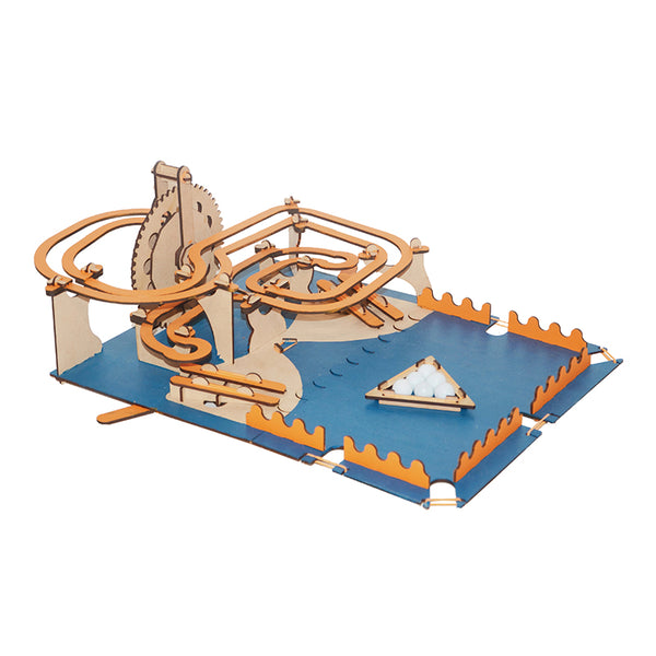 Science Fun-Educational-Hydraulics-Smartivity Roller Coaster Marbles