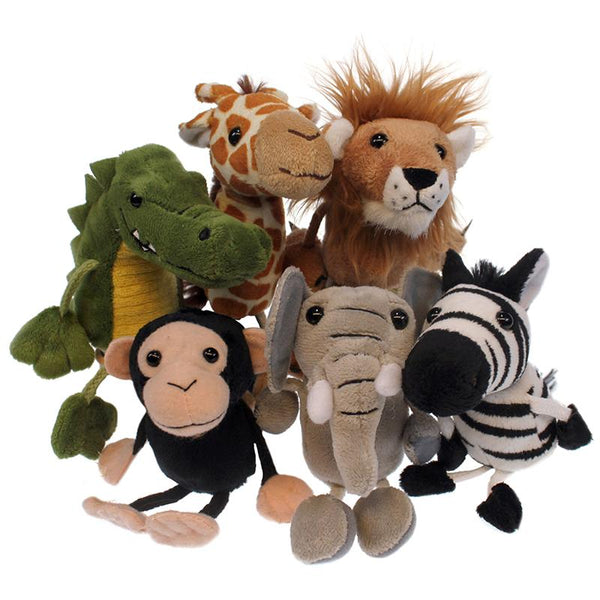 Finger Puppets-African Animals-Set of 6