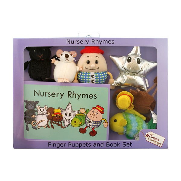 Finger Puppets-Traditional Story Set-Nursery Rhymes-Fairy Tale