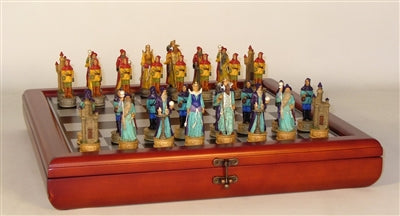 Chess Set-Sorcerer- Resin-Chest