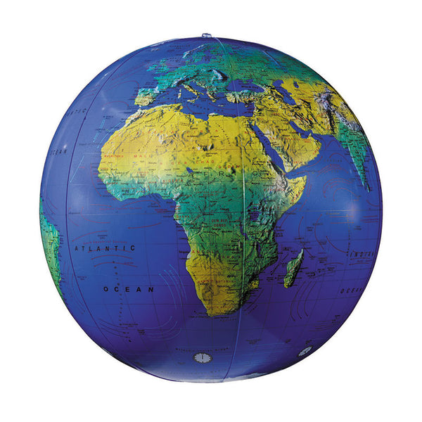 Educational-Globe-12 inch-Topographical-Inflatable-Children