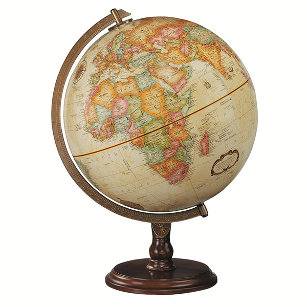 Educational-Globe-Lenox-Antique Finish