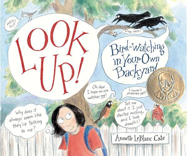 Look Up-Birdwatching-Backyard-Encourage-Young Birdwatchers-Nature Lover