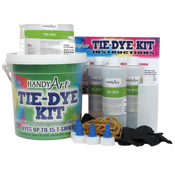 Arts and Crafts-Handy Art-Tie Dye Shirt Kit-Creative Children