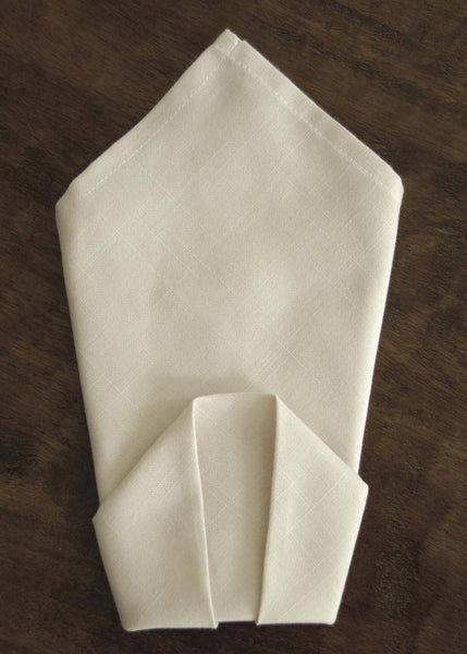 Table Linen-Napkins-Set of 2-Rabbit Hollow-Heritage Lace