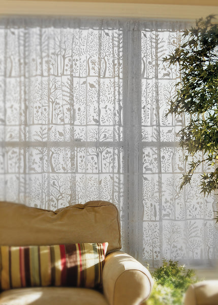 Curtain Panel-Heritage Lace-Rabbit Hollow