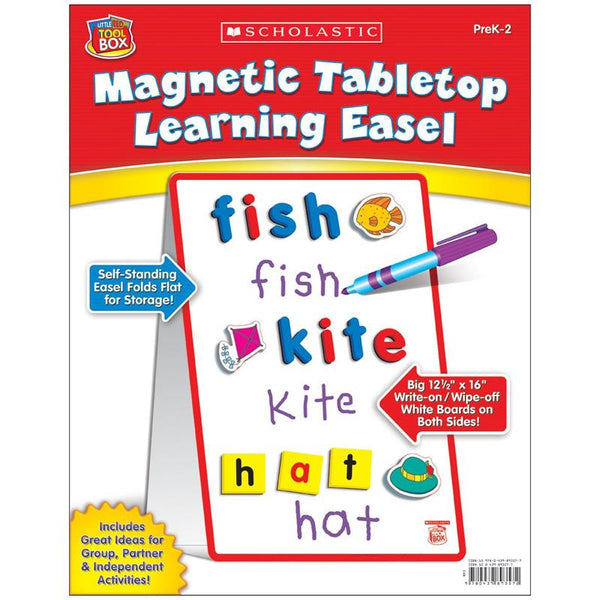 Creative Children-Magnetic Tabletop Learning Easel-Little Red Toolbox