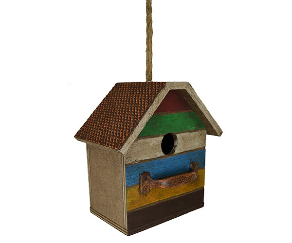 Birdhouse-Antique Bureau-Nature Lover