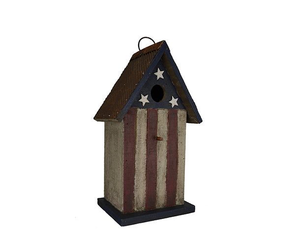 Birdhouse-Americana-Nature Lover