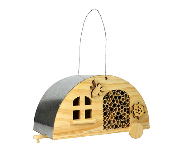 Insect Home-Cozy Camper-Wildlife Friends