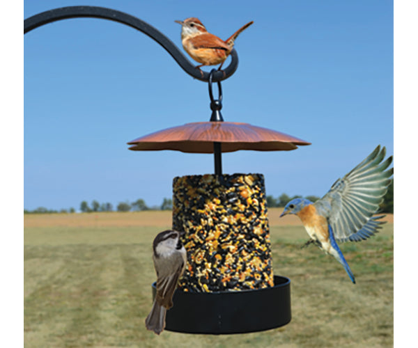 Bird Feeder-Multi Purpose-Copper Roof